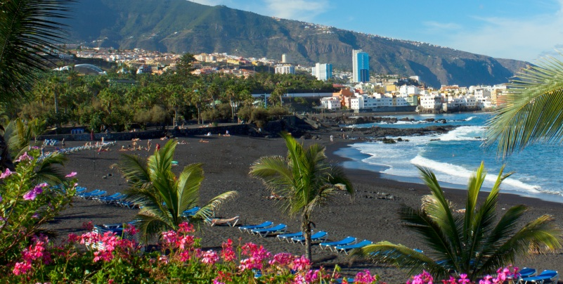 Five of the Best Beaches in Tenerife