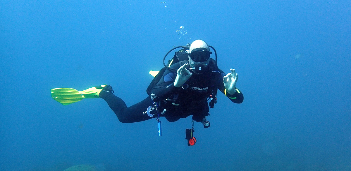 Scuba diving in Tenerife