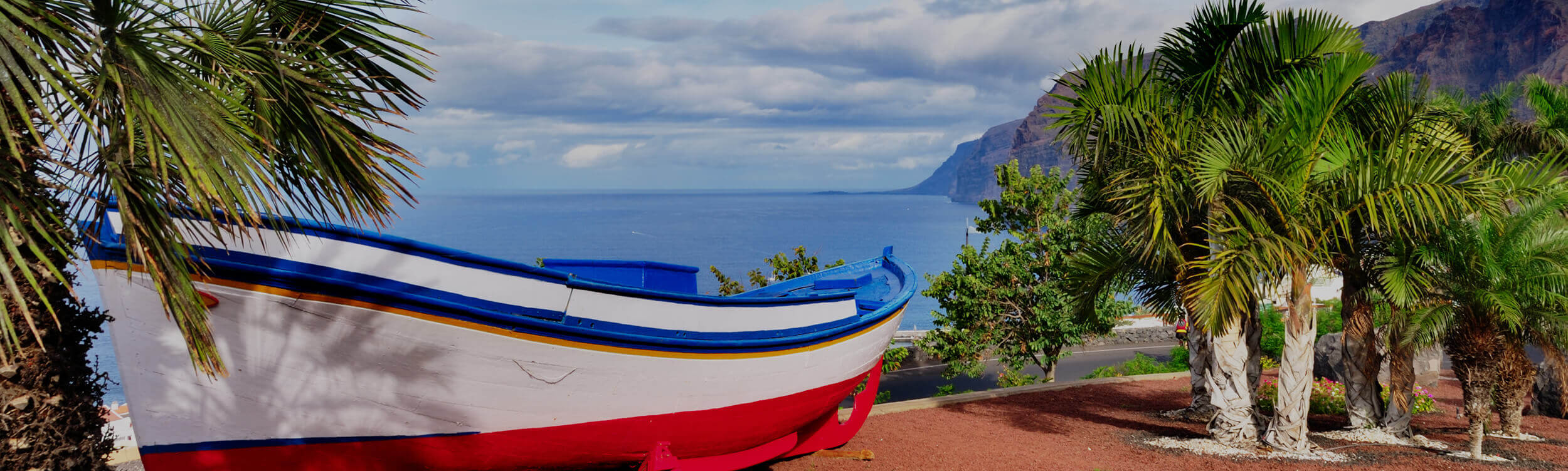 Tenerife property Seaview with a boat