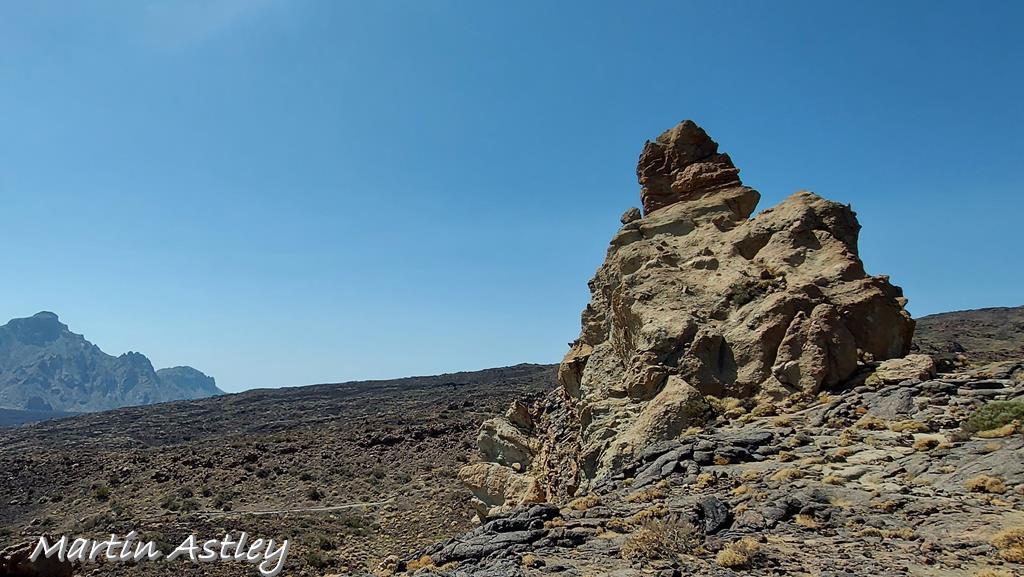 Teide rock formations