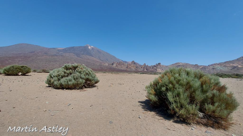 Mount Teide The hghest point in Spain